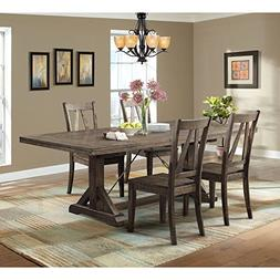 Picket House Furnishings Flynn Dining Set-Table & 4 Wooden S