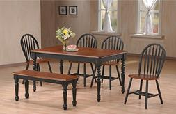 Home Source 50902131 6-Piece Franklin Collection Asian Hardw