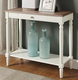 Convenience Concepts French Country Hallway Table, Driftwood