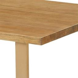 Finch Gerard Dining Table Sonoma Oak and Gold