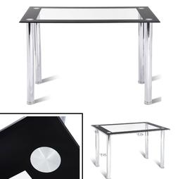 Glass Dining Table Modern Kitchen Glass Table Top Rectangula