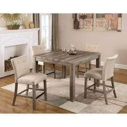 Best Master Furniture Hadley 5 Piece Counter Height Dining T