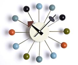 Squadise Handmade Antique Retro Wooden Wall Clock, Designed