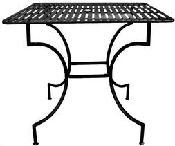 PTC Home & Garden Park Square Table with 2-Inch Umbrella Hol