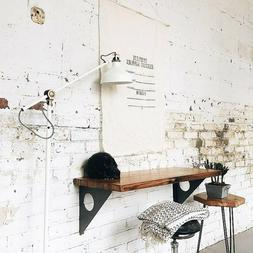 Industrial Rustic Wall mounted Table Dining Table Desk Wall
