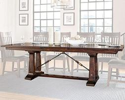 Intercon Hayden Rustic Industrial Dining Table