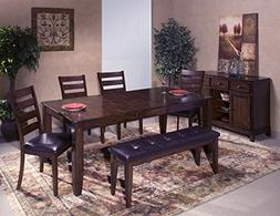 Intercon Kona Mango Wood 6-piece Dining Set