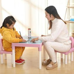 Kids Table and Chairs Play Set Toddler Child Toy Activity Fu