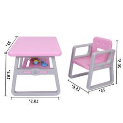 Kids Table and Chairs Set - Toddler Activity Chair Best for