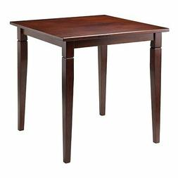 Winsome Kingsgate Dining Table, Routed Accent with Tapered L