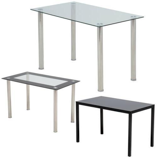 "47""/53""L Dining Table w/Metal Legs"