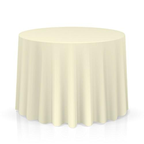 10 round tablecloths