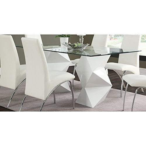 Coaster Home Furnishings 122210 Dining Table Antique Linen