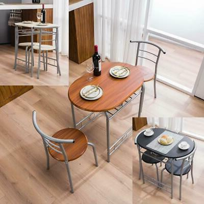 3 pcs bistro dining set table