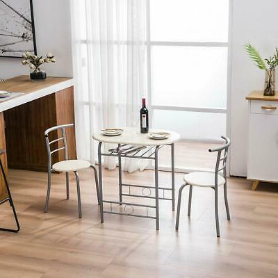 3 PCS and Chairs for Dining Furniture Natural