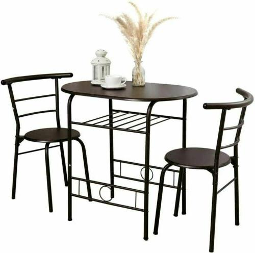 3 Table 2 Chairs Home Kitchen Furniture Dinner