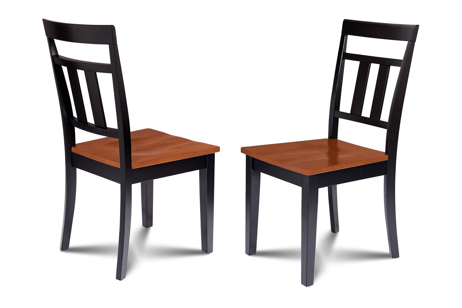 """38"""" DINING ROOM SET W/. 18"""" CHAIRS CHERRY"""