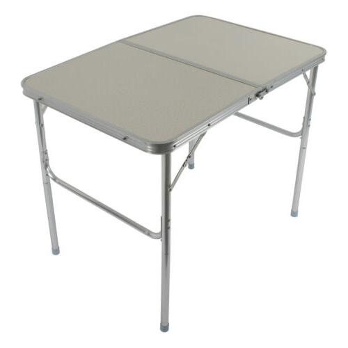 Folding Table Portable Indoor/Outdoor Picnic Party Dining Ca