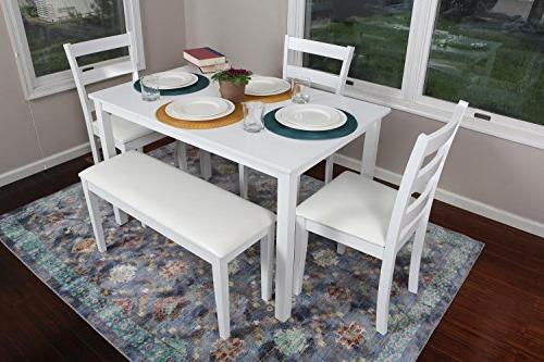 4 Person 5 Piece Kitchen Dining Table