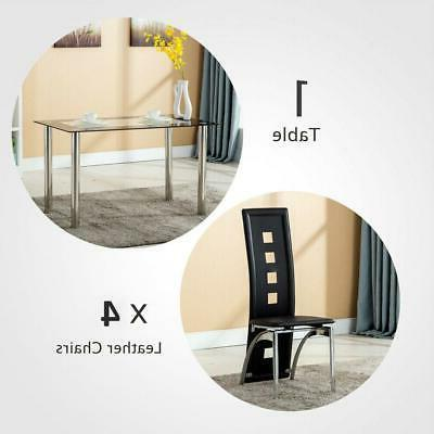4-Piece w/ 1 Table Set Home