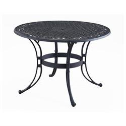 Home Styles 48 Outdoor Table - Round Top - 4 Legs x 48 Table