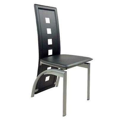 5 Dining Chairs Kitchen Breakfast New