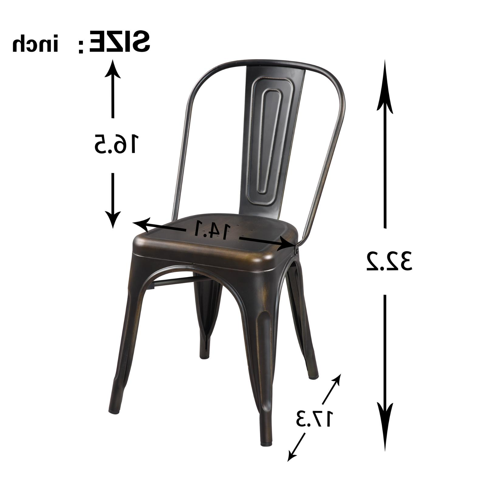 5 Dining Table Chairs Room Kitchen Bistro Bar