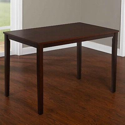 5 Piece Wood Furniture 4 Chairs and Dinette
