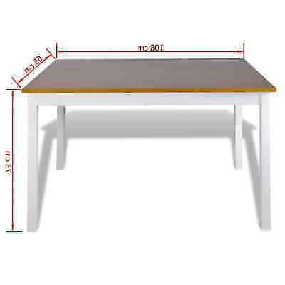 5 Table Set and Wood Home