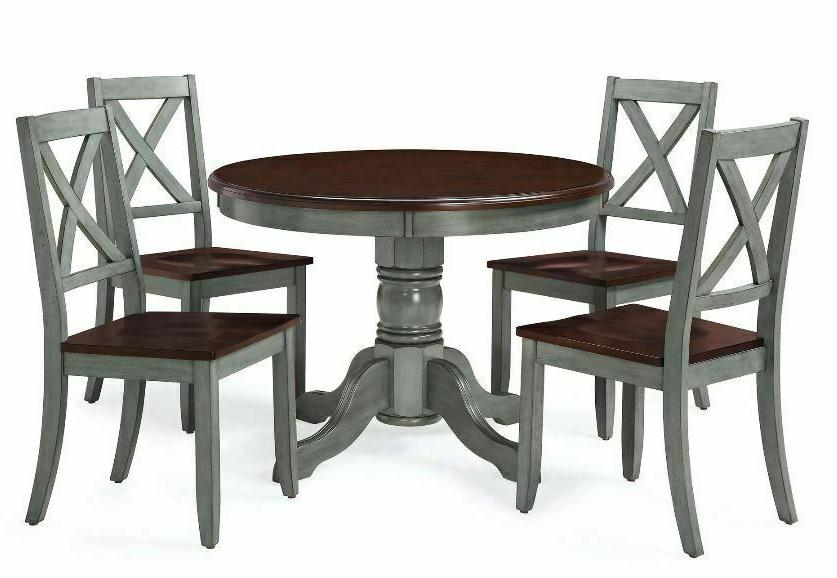 5 Table for Rustic Round Dining Room