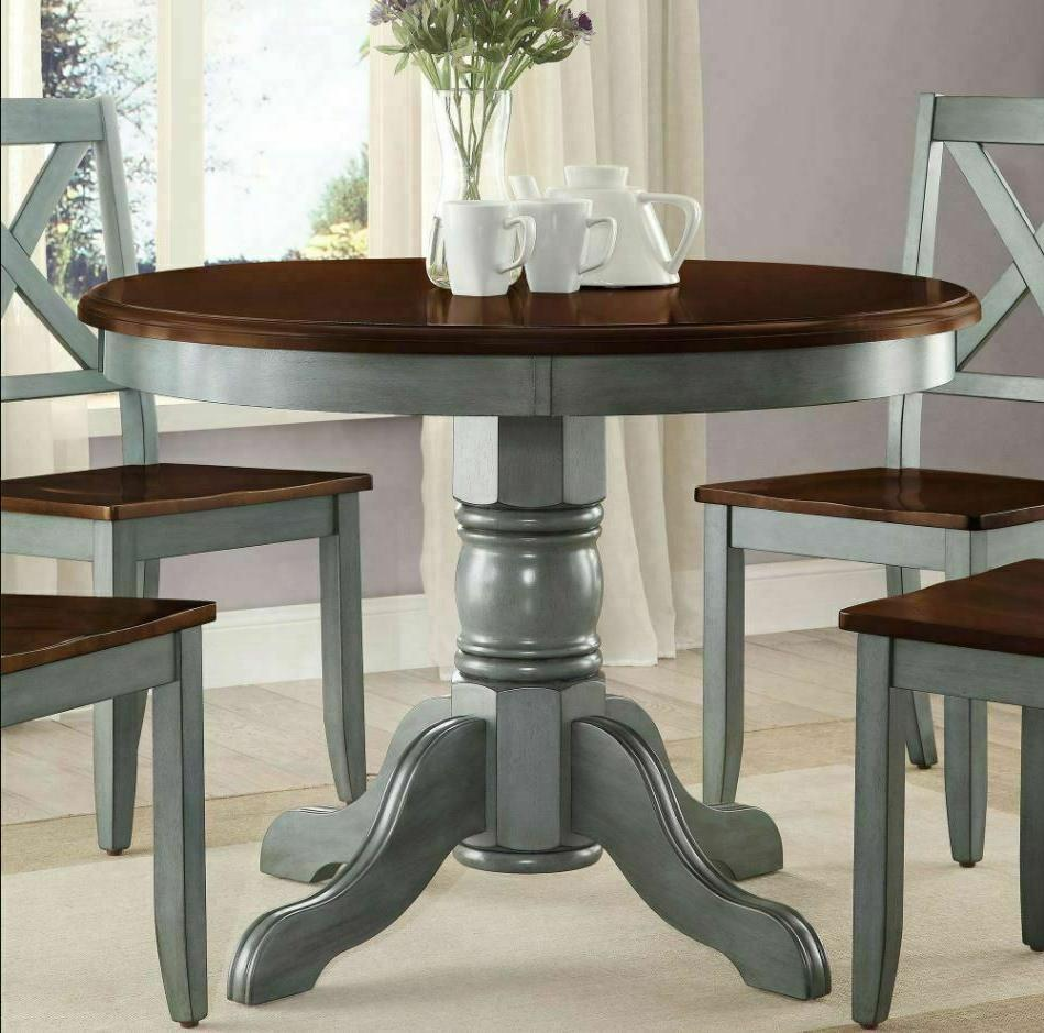 5 Farmhouse Rustic Round Dining Room Kitchen