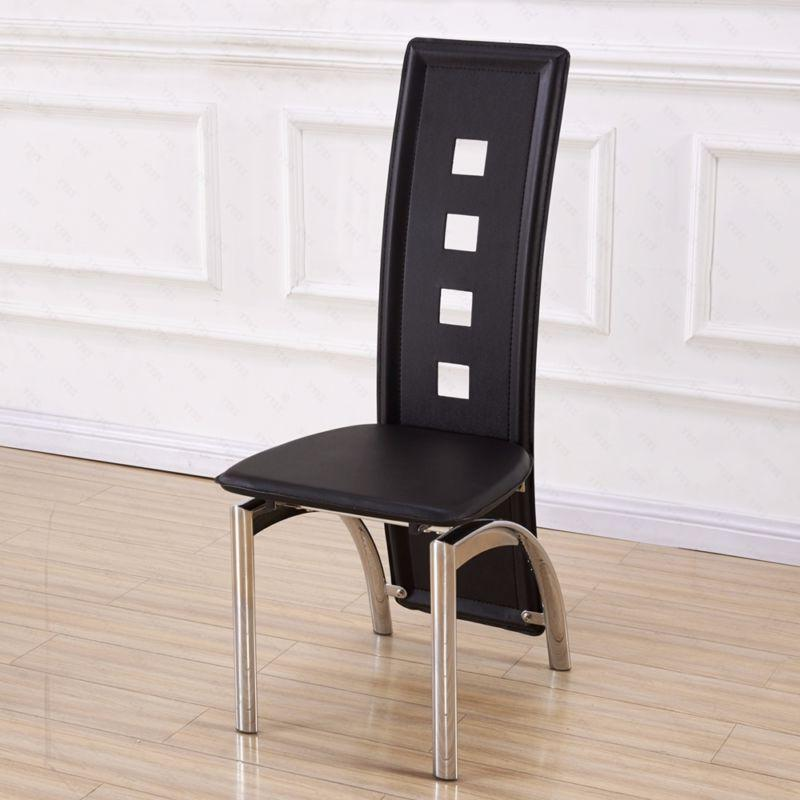 5 Piece Table Chairs Room Breakfast Furniture