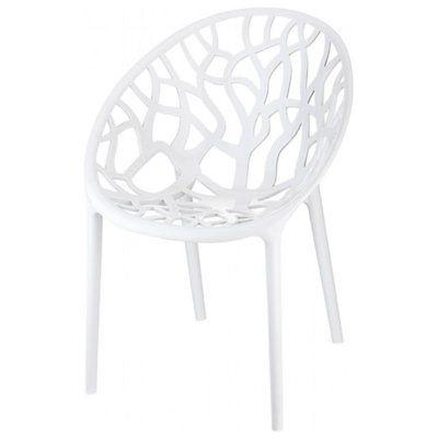 5 Piece Set with Dining Table and Dining Chairs White