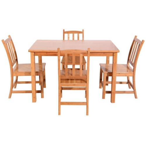 5PCS Dining Set 1 Table and Kitchen