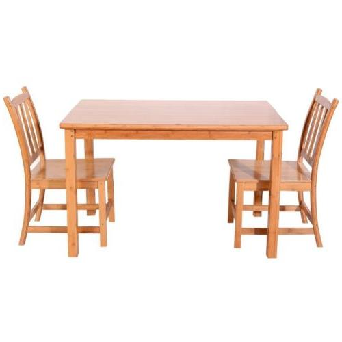 5PCS Bamboo Table Kitchen