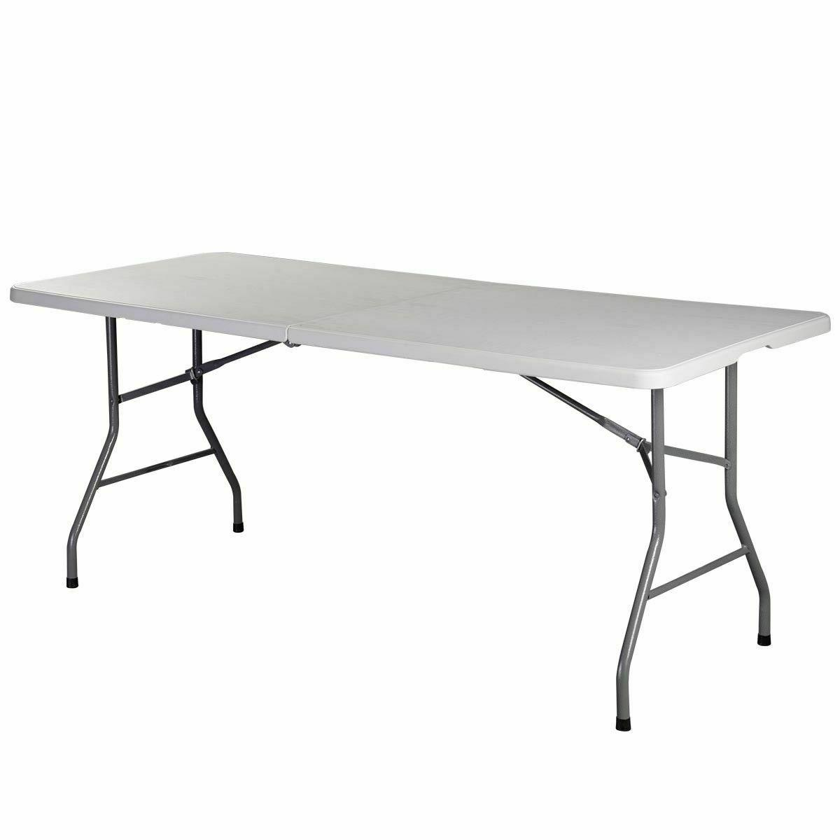 6' Folding Party Dining Camp Tables