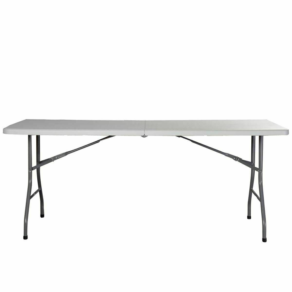 6' Folding Table Plastic Indoor Party