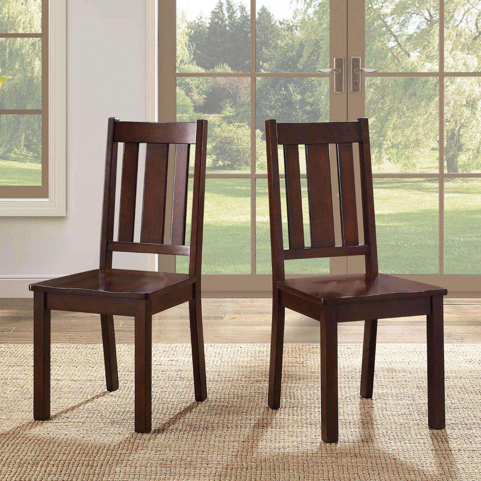 7 Piece Chairs Classic Style Solid