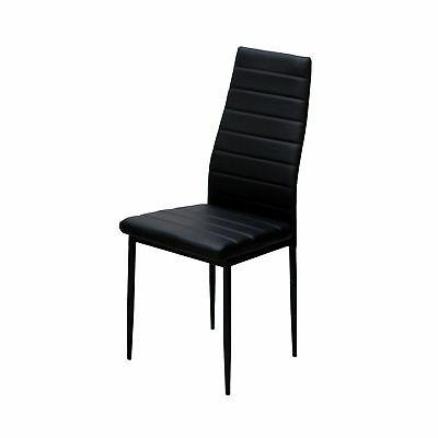 IDS Modern Glass Table Set 6 Chairs