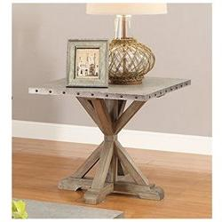 Coaster 703747 Home Furnishings End Table, Driftwood