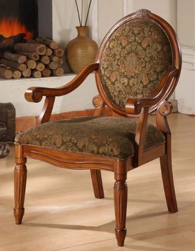 Arm Chairs- Create an Old World Style with This Beautifully