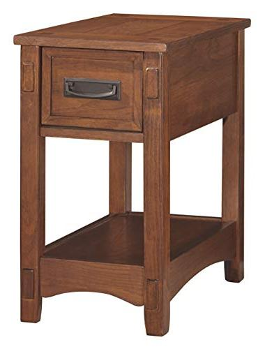 Ashley Furniture Table - 1 Drawer -