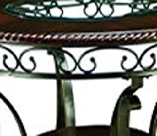 Ashley - Dining Room Table - Brown