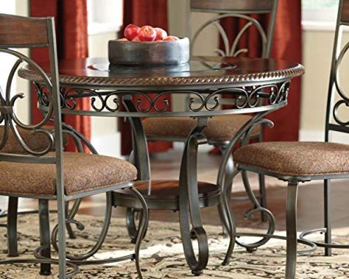 Ashley - Glambrey Dining Room Table Brown