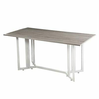 Holly & Martin Driness Drop Leaf Console Dining Table, Weath