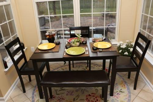Home Dining Dinette Table Chairs & Bench 150236