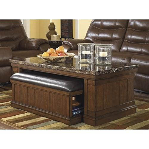 Signature Design by Ashley T838-1 Merihill Collection Coffee