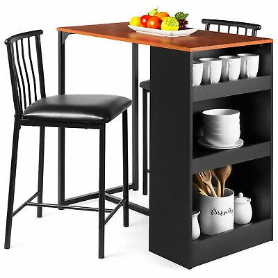 bcp kitchen counter height dining table set