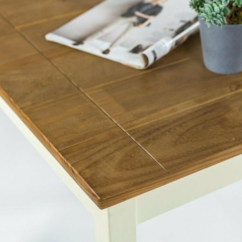 Zinus Farmhouse Wood Table