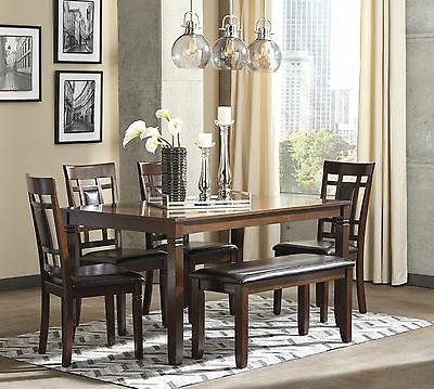 Ashley Furniture Finish Pc Dining Table Bench